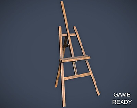pbr 3D model VR / AR ready Easel