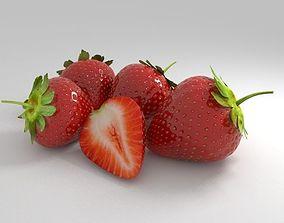 3D strawberry fruit