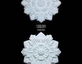 Rosette 1 56 011 3D model