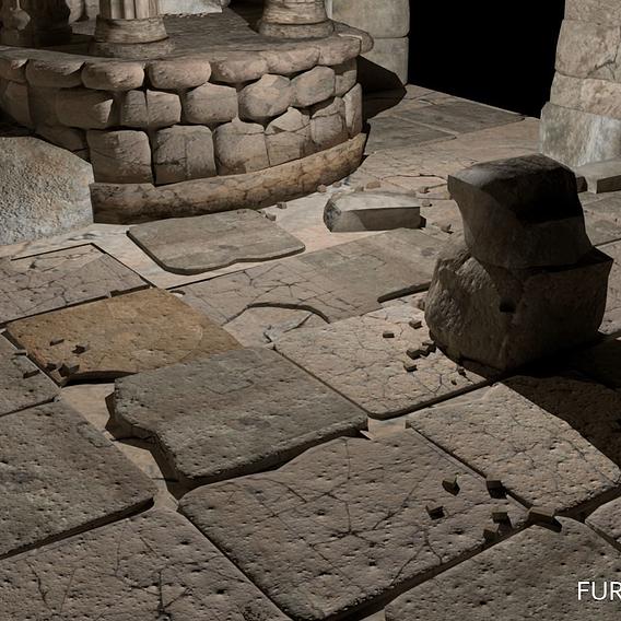 Temple Floor