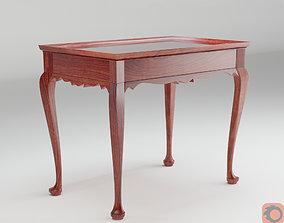 Queen Anne Tea Table 3D model