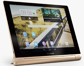 Lenovo Yoga Tablet 10 HD Golden 3D asset