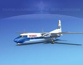 Fairchild FH-27 Piedmont 3D model