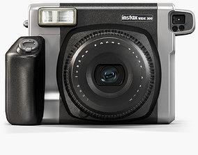 Fujifilm Instax WIDE 300 instant print camera 3D model