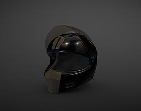 3D model game-ready Motorcycle Helmet
