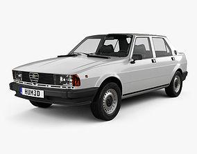 3D Alfa Romeo Giulietta 1977