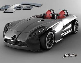 Mercedes F400 concept 3D