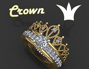 Ring crown transformer 3D printable model