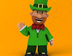 3D model Fun leprechaun