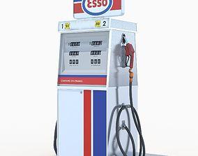 Esso fuel dispenser 3D model