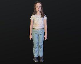 3D model No93 - Girl Standing