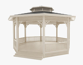 Gazebo 3D outdoor