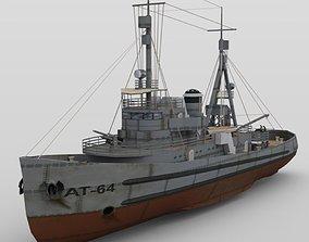 3D USS Najavo in multiple formats