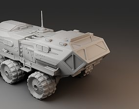 All-terrain vehicle for research 3D printable model