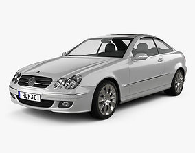 Mercedes-Benz CLK-Class C209 Coupe 2005 3D