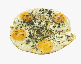 Breakfast Eggs 3D