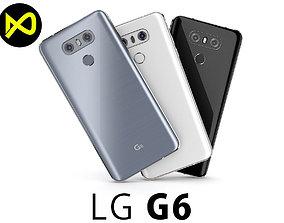 LG G6 All Colors 3D model