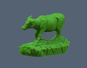 3D printable model Ox Statue