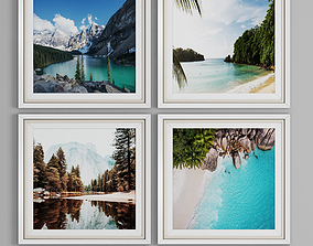 photo frame wall 4 collection 3D
