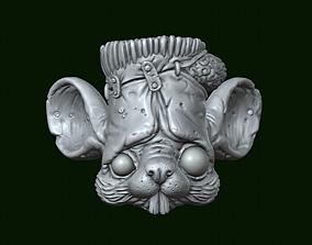 3D printable model Frankenstein mouse
