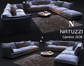 3D Sofa in modern style NATUZZI Cambre 2638