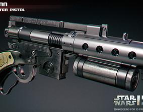 3D print model Merr-Sonn type CC Blaster Pistol