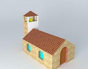 3D model bell Church
