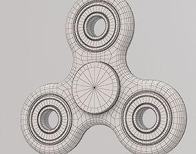 Black seam spinner 3D model