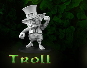 Troll leprechaun 3D printable model