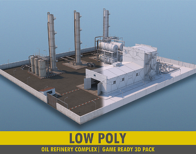 Refinery Complex - Pack 3D model