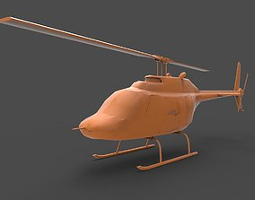 bell helicopter 3D printable model