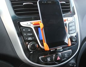 Phone holder Xiaomi Mi A1 in car 3D print model
