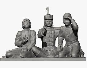 3D printable model Three Little Heroes