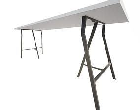 3D Ikea table LINNMON LERBERG