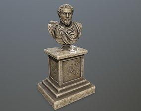 Marcus Aurelius 3D asset