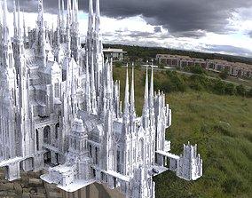 Mount Olympus Zeus chambers colossal walkways 3D model