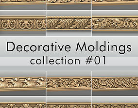 3D Decorative Moldings collection 01