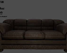 3D asset game-ready Armchair oldseat