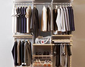 3D model Wardrobe for men