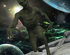 3D model Alien OBJ