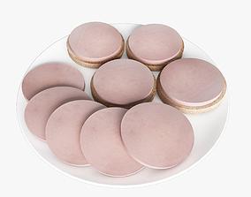sausage 3D model Sandwiches