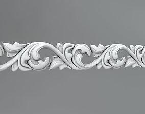 Molding and ornament 43 3D model