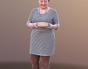 Barbara 10525 - Walking Casual Lady 3D model
