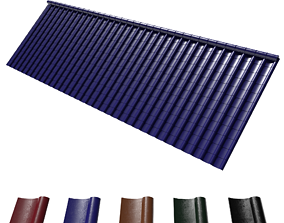 rgb 3d adjustable roof tiles