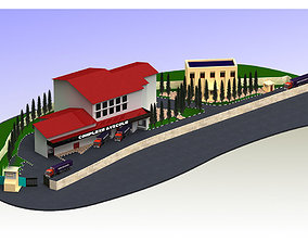 Small City Design 3D