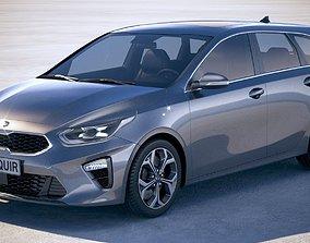Kia Ceed Sportswagon 2019 3D