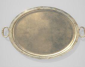 Bronze Platter - PBR 3D asset