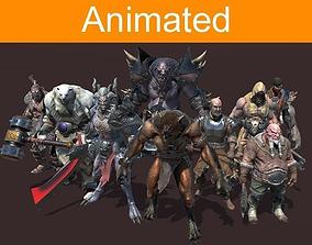 RPG Fantasy Pack 3D model