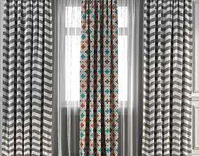 Curtain Set 95 3D