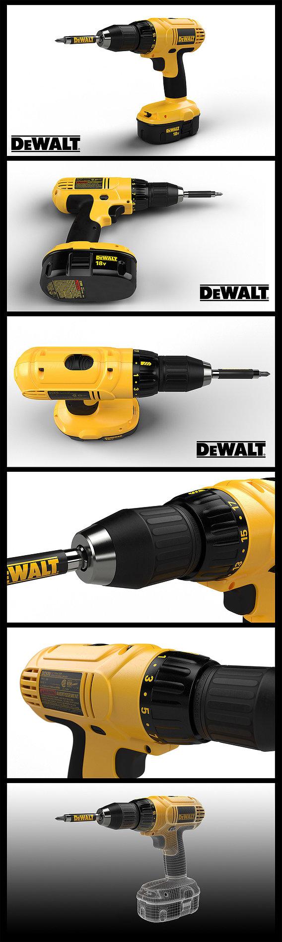 Dewalt DC970 Drill Driver